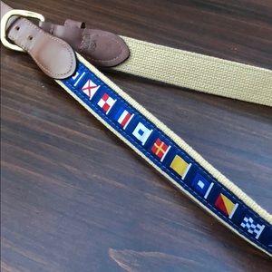 Other - Nautical flag belt